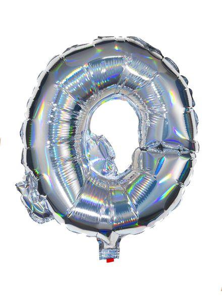 folieballon Q - zilver Q zilver - 60800448 - HEMA