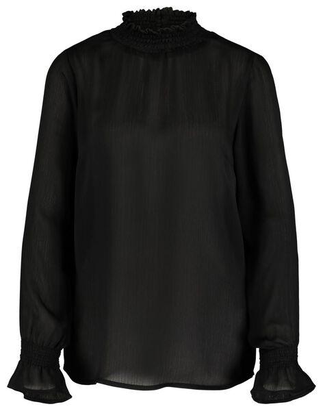 dames top zwart zwart - 1000017546 - HEMA