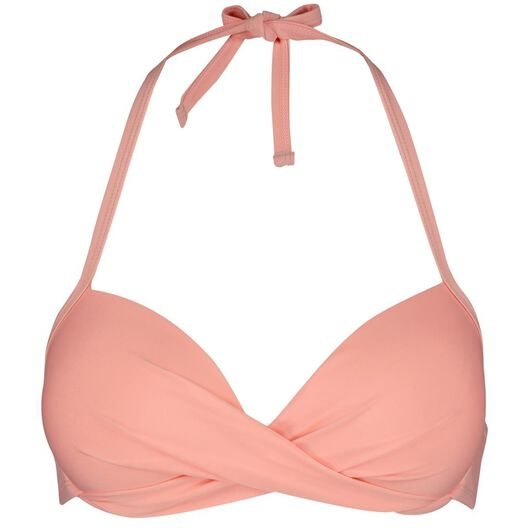 dames halter bikinitop push-up beugel roze roze - 1000013819 - HEMA