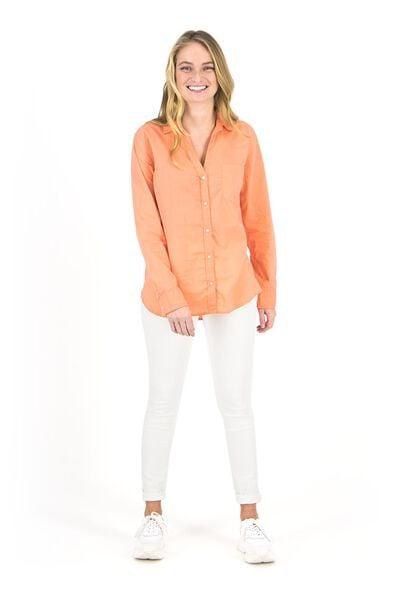 dames jeans - skinny fit wit wit - 1000018246 - HEMA