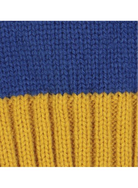 kindermuts blauw blauw - 1000016257 - HEMA
