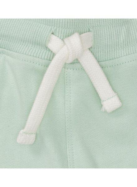 baby sweatshort felgroen felgroen - 1000010929 - HEMA