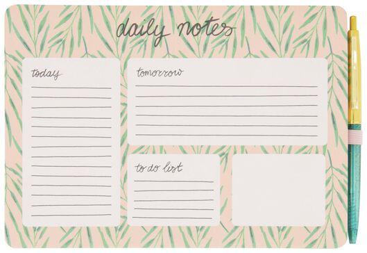Dagplanner met pen