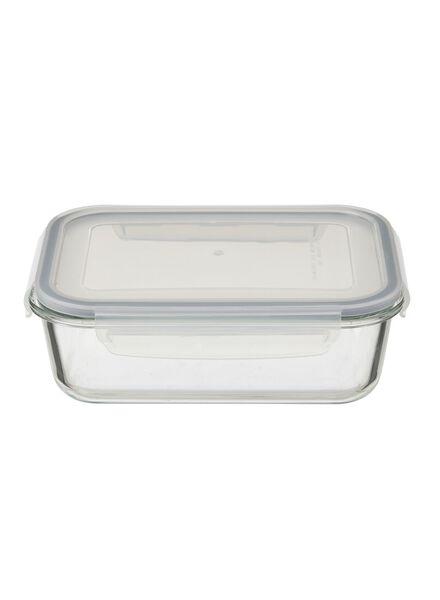 Glazen clipdoos 1.5L