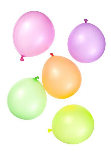 10-pak neon ballonnen - 14200043 - HEMA