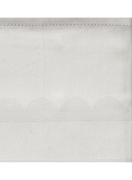 tafelkleed - 140 x 250 - katoen - lichtgrijs stip - 5303785 - HEMA