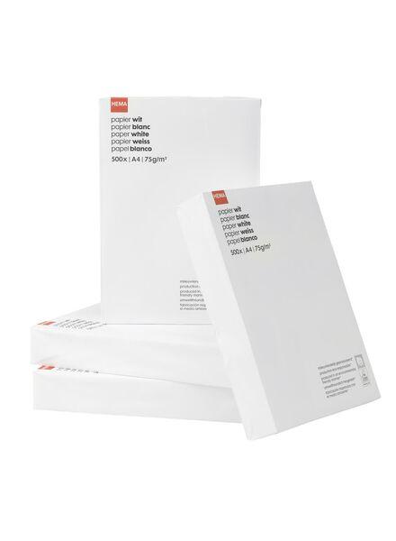 500-pak kopieerpapier A4 - 14811030 - HEMA