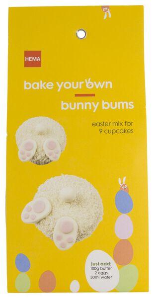 bakmix voor 9 cupcakes konijn 370 gram - 10970067 - HEMA