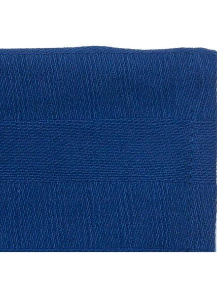 theedoek - 65 x 65 - katoen - blauw theedoek donkerblauw - 5440213 - HEMA