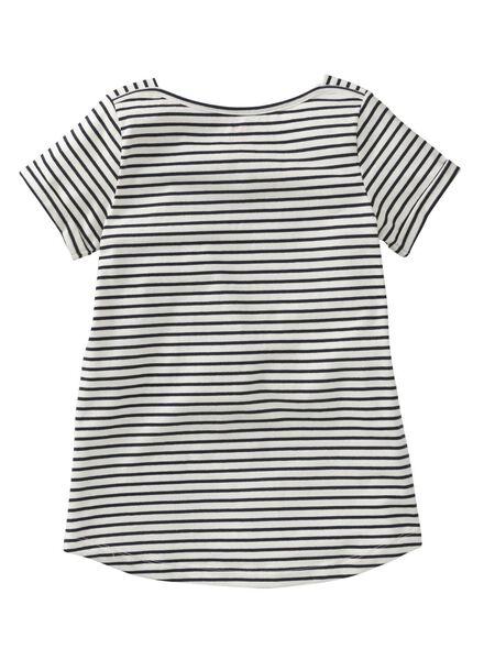 kinder t-shirt donkerblauw donkerblauw - 1000009085 - HEMA