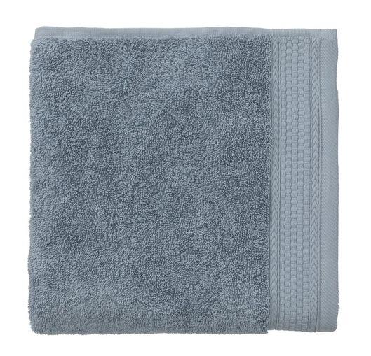 handdoek - 50 x 100 cm - hotel extra zwaar - ijsblauw ijsblauw handdoek 50 x 100 - 5220046 - HEMA