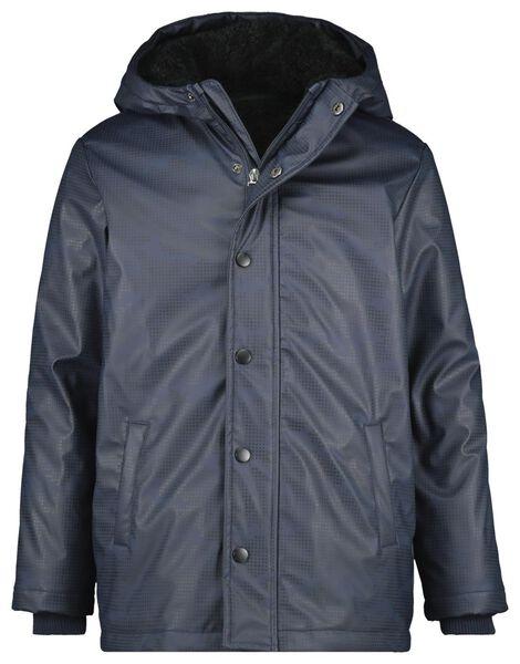 kinderjas donkerblauw donkerblauw - 1000020200 - HEMA
