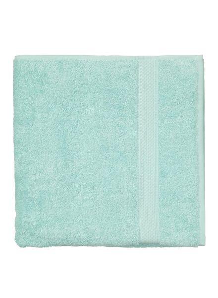 handdoek - 70 x 140 cm - zware kwaliteit - mintgroen uni - 5240004 - HEMA