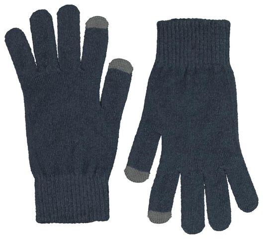 dameshandschoenen touchscreen grijs S/M - 16460631 - HEMA