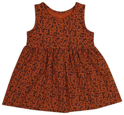 baby singletjurk - biologisch katoen bruin bruin - 1000019721 - HEMA
