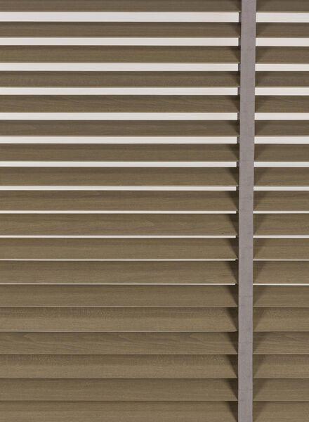 jaloezie hout gebeitst 50 mm - 7420060 - HEMA