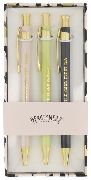 balpennen Beautynezz - 3 stuks - 14950049 - HEMA