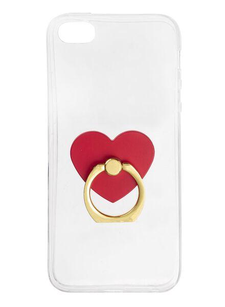 telefoon ring iPhone 5/5s/se - 60300448 - HEMA