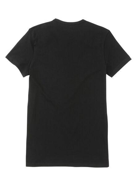 heren t-shirt slim-fit extra lang - 34263764 - HEMA