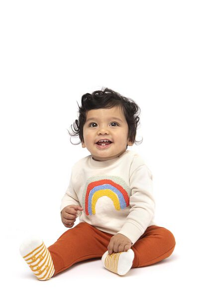 babysweater ecru ecru - 1000017337 - HEMA