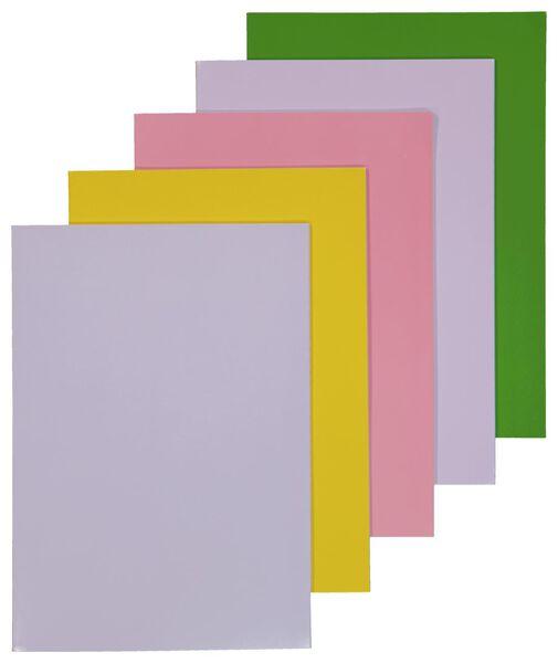 schriften A4 gelinieerd - 5 stuks - 14501471 - HEMA