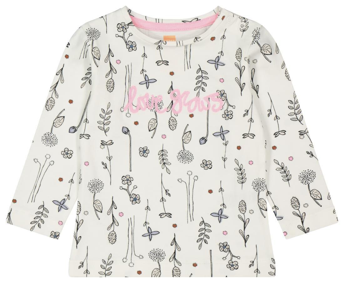 HEMA Baby T-shirt Love Grows Gebroken Wit (gebroken wit)