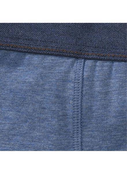 2-pak kinderboxers blauw blauw - 1000001456 - HEMA