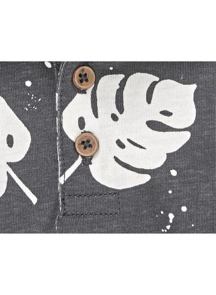 baby polo donkergrijs donkergrijs - 1000012978 - HEMA