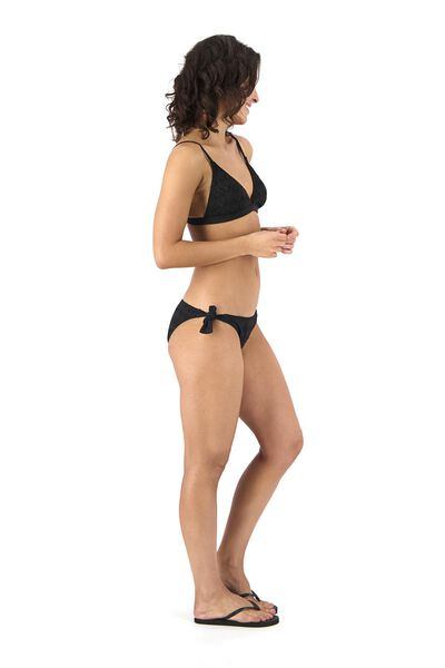 dames bikinislip zwart XL - 22311515 - HEMA