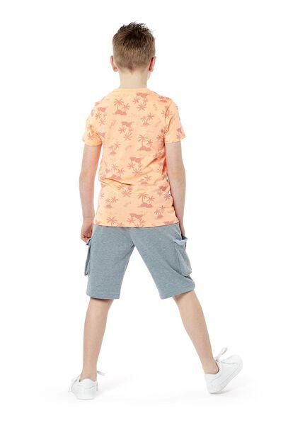 kinder sweatshort donkergroen 122/128 - 30770360 - HEMA