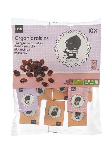 10-pak Jip en Janneke biologische rozijntjes - 10240040 - HEMA