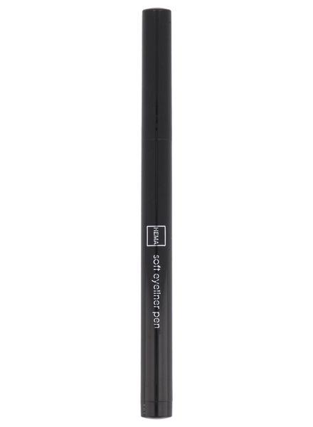soft eyeliner waterproof 77 black - 11210177 - HEMA