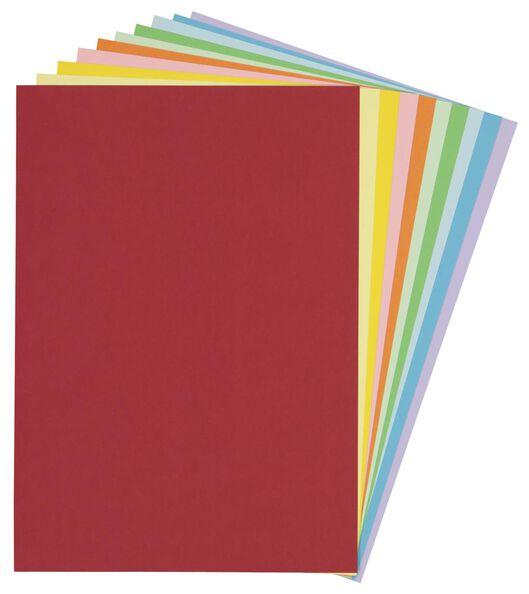 gekleurd karton - 60 stuks - 15910133 - HEMA
