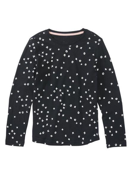 2-pak kinderpyjama's donkerblauw donkerblauw - 1000009221 - HEMA