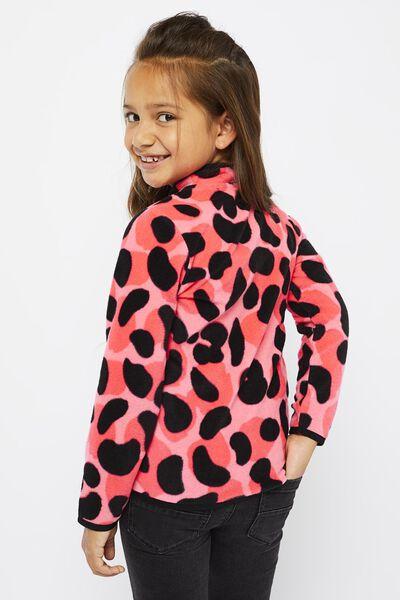 kindervest fleece roze roze - 1000021611 - HEMA