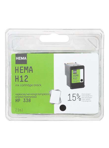 H12 vervangt HP338 - 38390039 - HEMA
