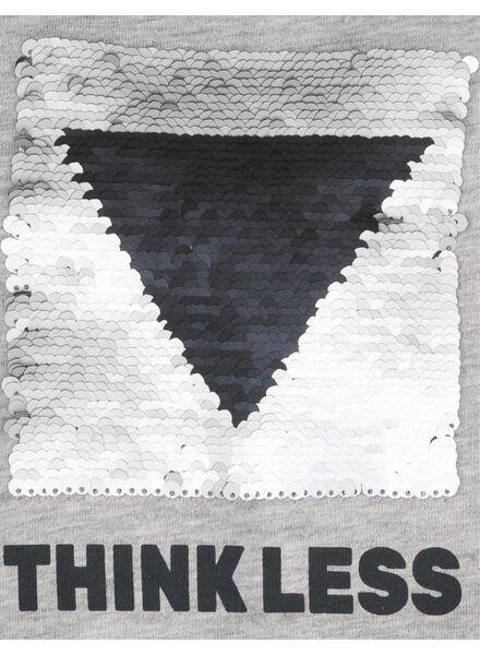kinder t-shirt grijs grijs - 1000008317 - HEMA