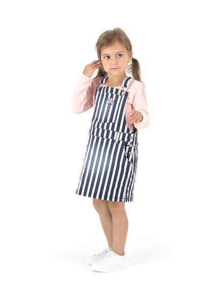 kinder salopette donkerblauw donkerblauw - 1000013686 - HEMA