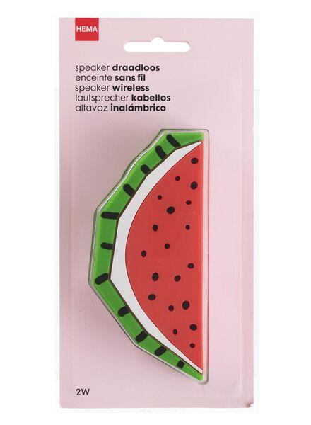 speaker draadloos watermeloen - 39600235 - HEMA