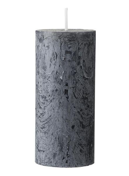rustieke kaars 11 x 5 cm - 13503401 - HEMA