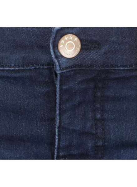 kinderjeans - skinny fit donkerdenim donkerdenim - 1000015453 - HEMA