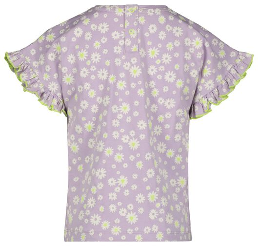 kinder t-shirt lila 98/104 - 30847635 - HEMA