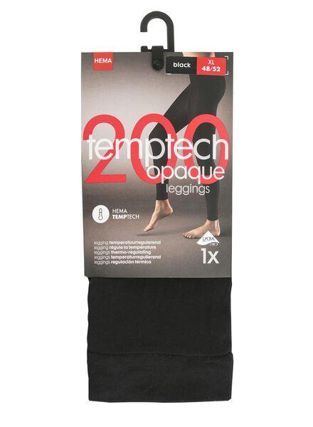 legging 200 denier zwart zwart - 1000001138 - HEMA
