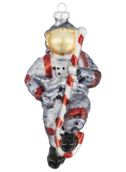 glazen kersthanger astronaut 8x7x14 - 25104821 - HEMA