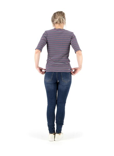 dames t-shirt multi multi - 1000014751 - HEMA