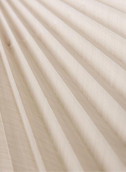 plisségordijn linnen naturel 20 mm - 7430039 - HEMA