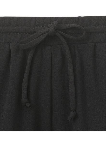 damesbroek zwart zwart - 1000010596 - HEMA