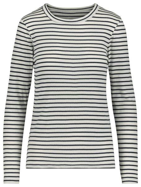 dames t-shirt gebroken wit gebroken wit - 1000019470 - HEMA