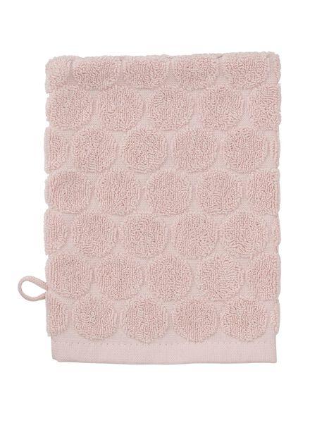 washand - zware kwaliteit - roze stip - 5200070 - HEMA