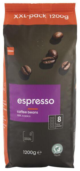 koffiebonen espresso - 1.2 kg - 17110025 - HEMA
